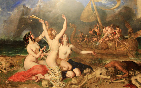 The Sirens and Ulysses - William Etty