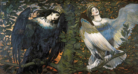 """A Song of Joy and Sorrow"" by Vasnetsov"