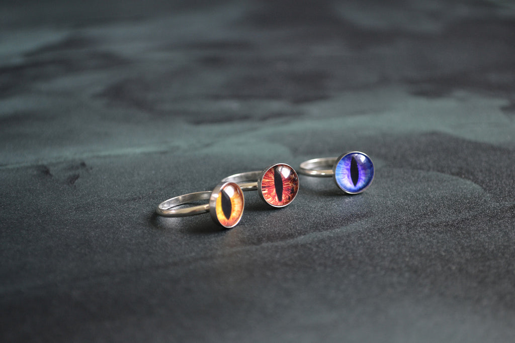 Dragon Eye Ring by Birds N Bones Jewelry