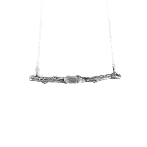 Darkling Beetle + Horizontal Branch Necklace