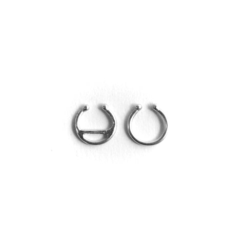 Faux Septum Ring by Birds N Bones Jewelry