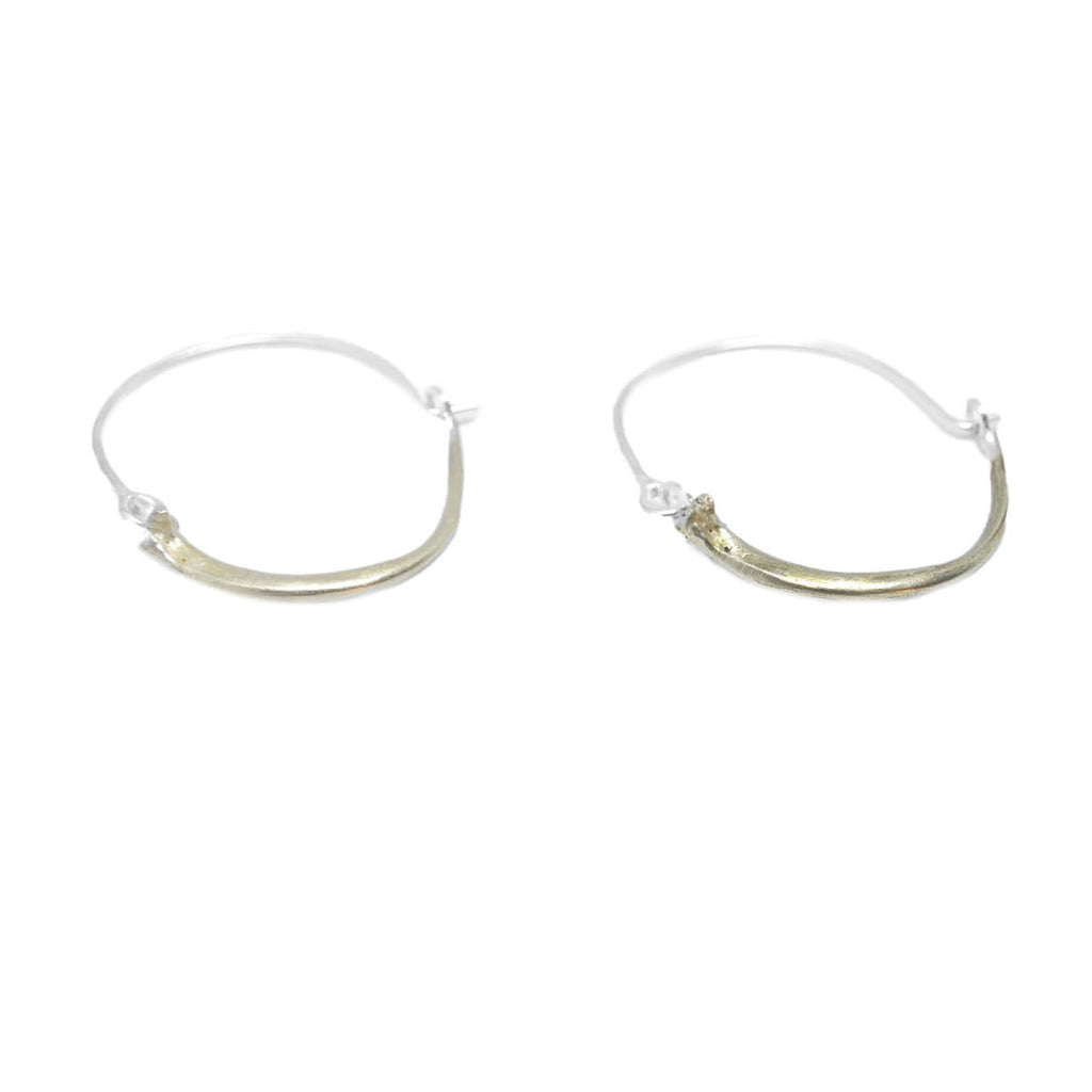 Morelia Full Circle Hoops . Brass