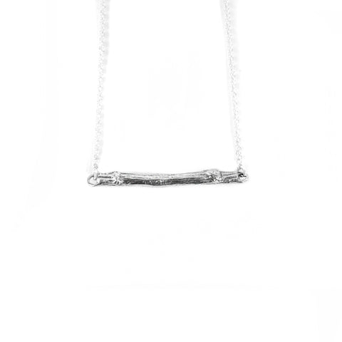 Petite Twig Horizontal Necklace
