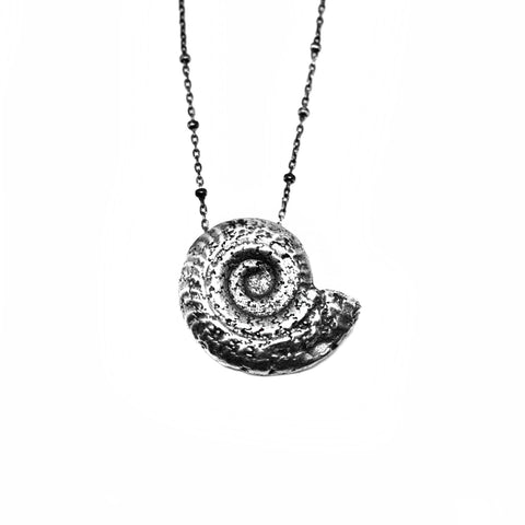 Ammonite Necklace Birds N Bones Jewelry
