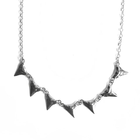 Basilisk Multi Incisor Necklace Birds N Bones Jewelry
