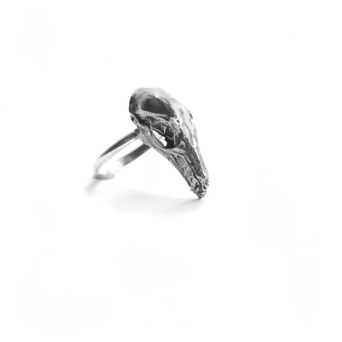 Hydra Maximus Skull Ring birds n bones jewelry