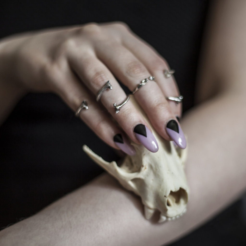 Morelia Knuckle Ring by Birds N Bones Jewelry