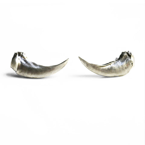 Taxidea Studs Large Claw by Birds N Bones Jewelry