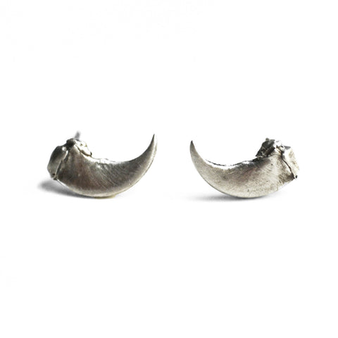Taxidea Studs Small Claw by Birds N Bones Jewelry