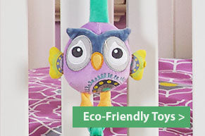 Eco-Friendly Designer Toys & Bedding for Baby