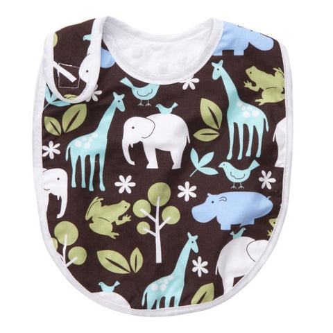 Blue ZOOlogy Bib