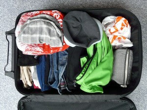 how to pack for a trip with baby
