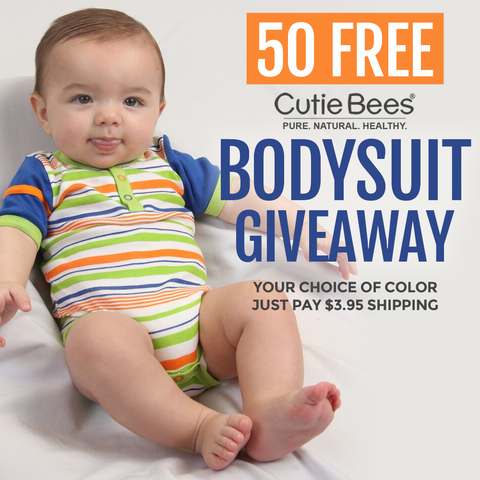 organic baby clothes giveaway