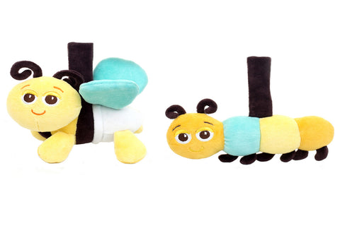 Bee & Caterpillar Take-Along Pals Set