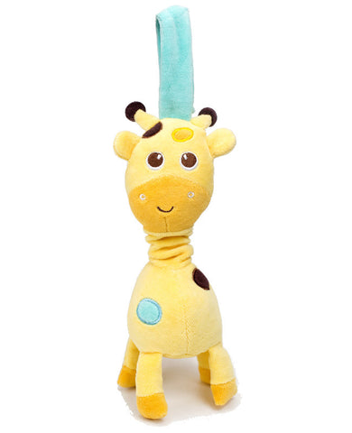 organic giraffe car seat and stroller toy