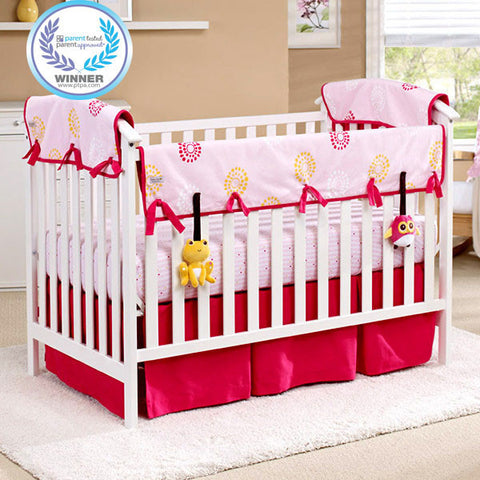 Eco-Teether™ Organic Crib Rail Cover (Front)