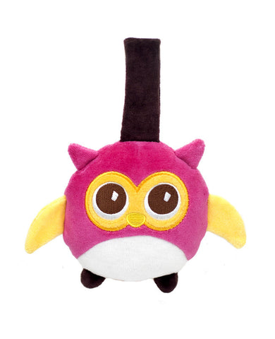 organic owl stroller toy, travel toy for baby