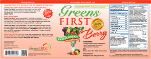 Greens First Berry - Medical Grade Nutrients