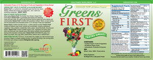 Greens First Powder - Medical Grade Nutrients