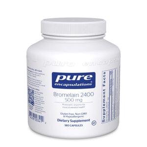 Bromelain 2400 500 mg. 180s - Medical Grade Nutrients