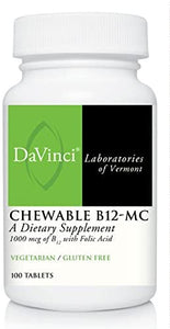 CHEWABLE B12-MC (100) CT - Medical Grade Nutrients