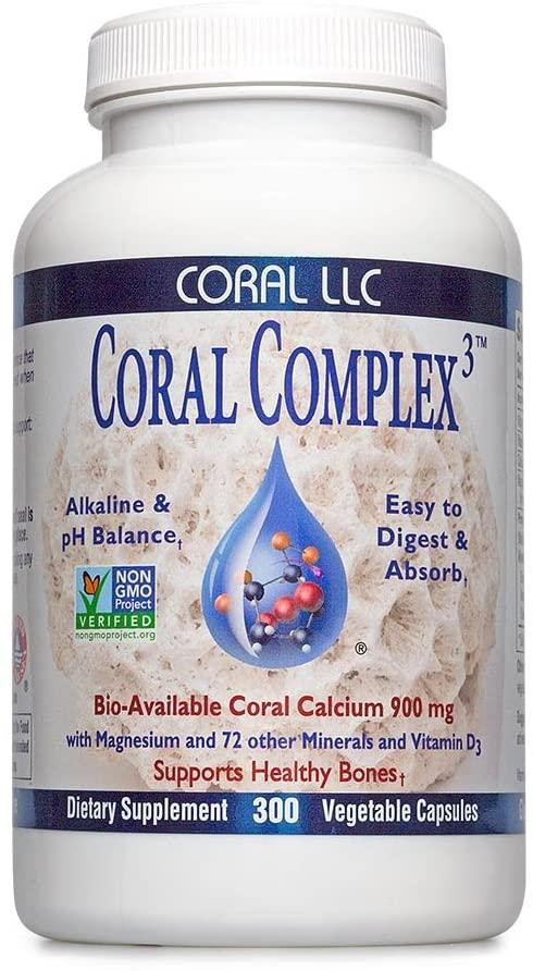 Coral Complex³ LLC Veg Caps - Medical Grade Nutrients