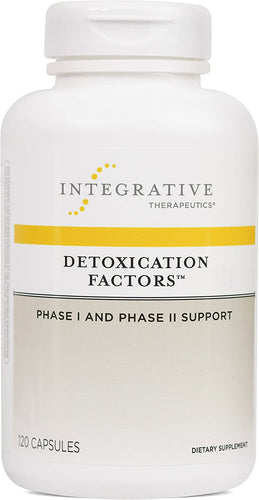 Detoxication Factors 120 CT - Medical Grade Nutrients
