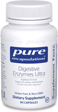 Load image into Gallery viewer, Digestive Enzymes Ultra w/ HCl 90 CT - Medical Grade Nutrients