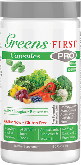 Greens First Pro Capsules - Medical Grade Nutrients