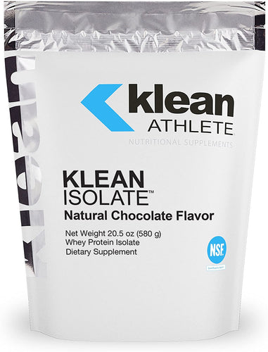 Klean Isolate Natural Chocolate Flavor 580g - Medical Grade Nutrients