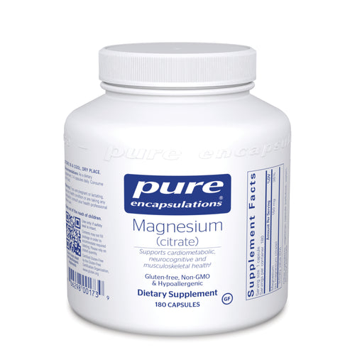 Magnesium (citrate) 150 mg 180 CT - Medical Grade Nutrients