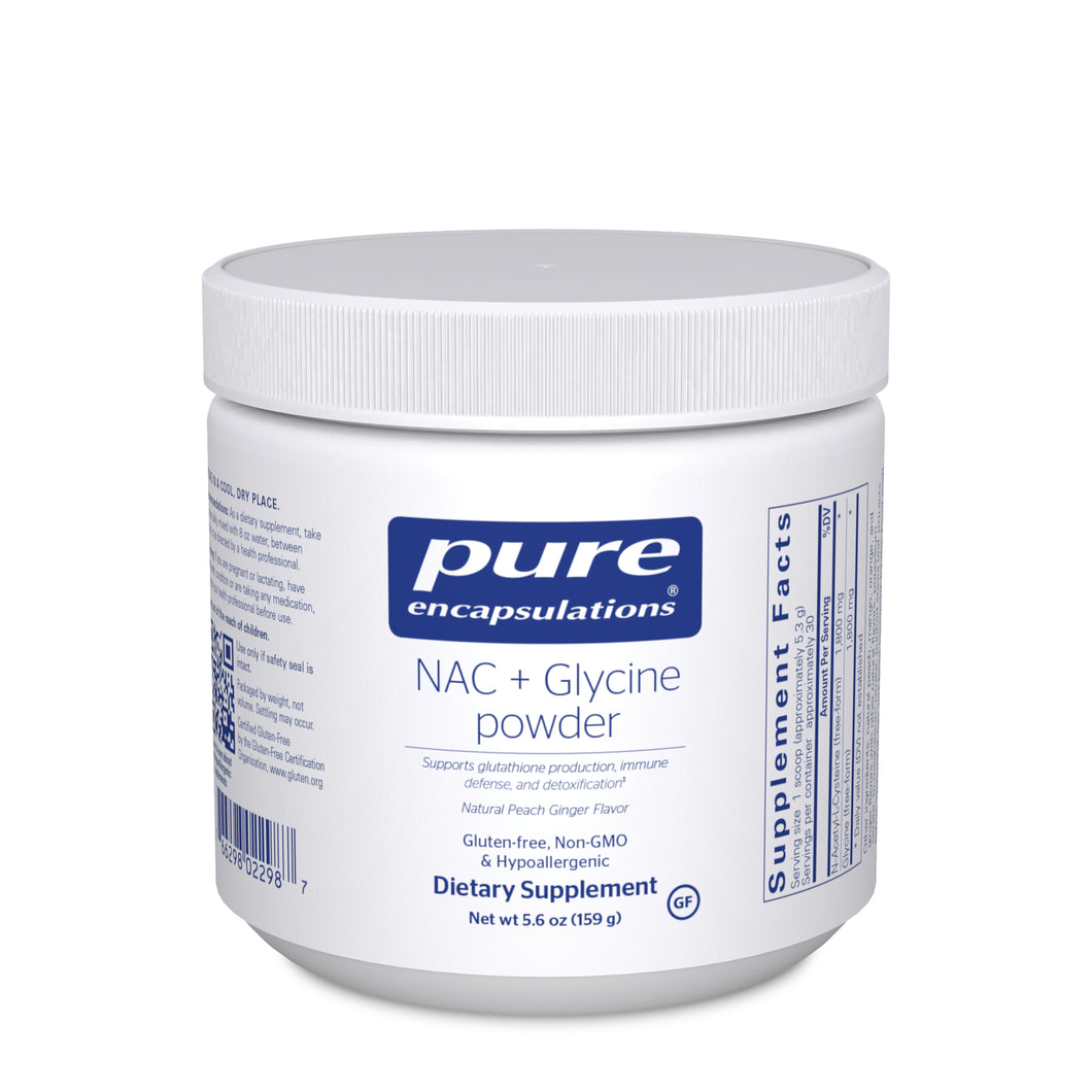 NAC+ Glycine Powder 5.6 oz - Medical Grade Nutrients