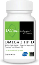 Load image into Gallery viewer, OMEGA 3 HP-D (120) CT - Medical Grade Nutrients