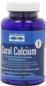 Coral Calcium w/ ConcenTrace 60 vegcaps - Medical Grade Nutrients