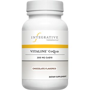 Vitaline CoQ10 Chocolate 200 mg 30 chew - Medical Grade Nutrients