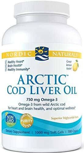 Nordic Naturals - Arctic CLO 180 Gels - Medical Grade Nutrients