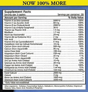 Bob's Best Coral Calcium 2000 3 Pack - Medical Grade Nutrients