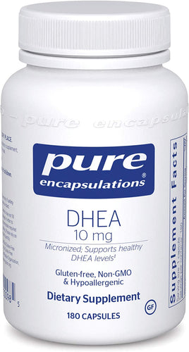 DHEA (micronized) 10 mg 180 CT - Medical Grade Nutrients