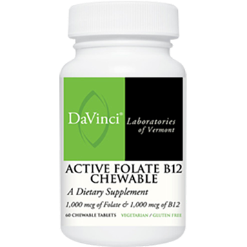 Active Folate B12 60 chews - Medical Grade Nutrients