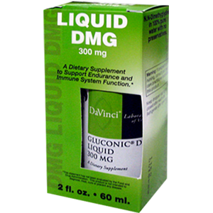 Gluconic DMG Liquid 300 mg 2 oz - Medical Grade Nutrients