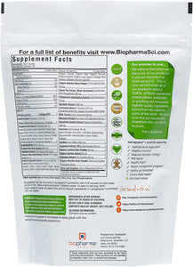 Biopharma Scientific NanoGreens + Probiotic Powder - Medical Grade Nutrients