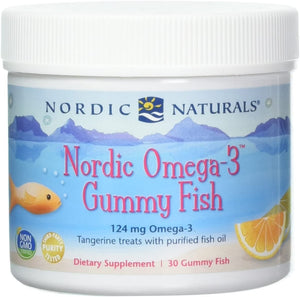 Nordic Naturals - Nordic Omega-3 Gummy Fish 30 CT - Medical Grade Nutrients