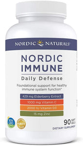 NORDIC IMMUNE  Daily Defense 90 CT - Medical Grade Nutrients