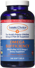 Load image into Gallery viewer, Omega Sufficiency Caps 240 CT - Medical Grade Nutrients
