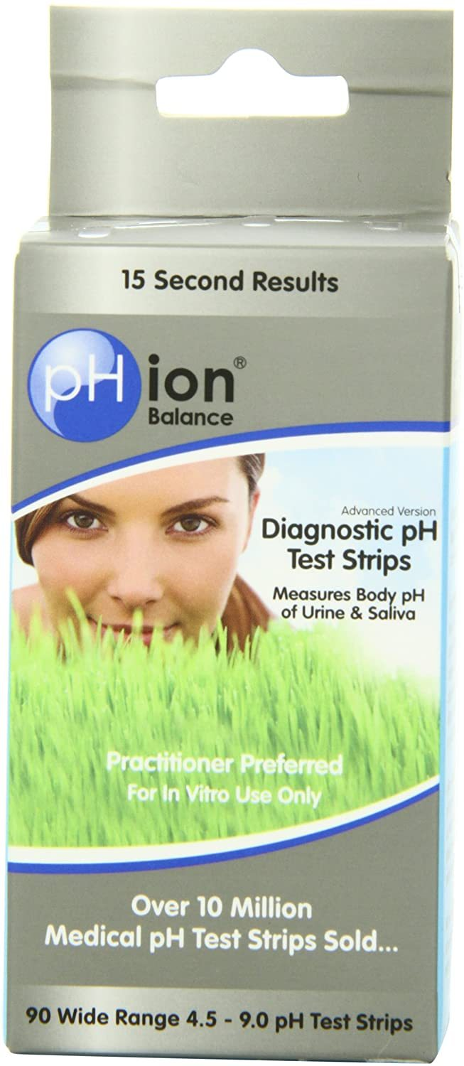 pHion Diagnostic pH Test Strips - Medical Grade Nutrients