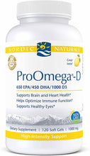 Load image into Gallery viewer, Nordic Naturals ProOmega-D Lemon 1000 - Medical Grade Nutrients