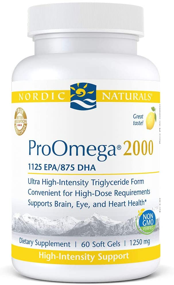 Nordic Naturals ProOmega 2000 - Highest-Concentration - Medical Grade Nutrients