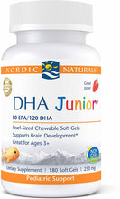 Load image into Gallery viewer, Nordic Naturals Pro DHA Junior 180 Gels - Medical Grade Nutrients