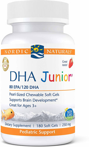 Nordic Naturals Pro DHA Junior 180 Gels - Medical Grade Nutrients