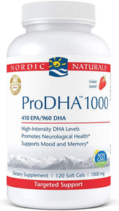 Nordic Naturals ProDHA 1000 - Medical Grade Nutrients